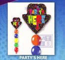 Ballonpilaar: Party's Here
