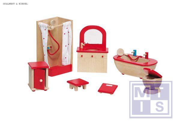 Poppenhuis meubels badkamer