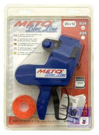 Prijstang Meto BlueLine 1-liner 2612