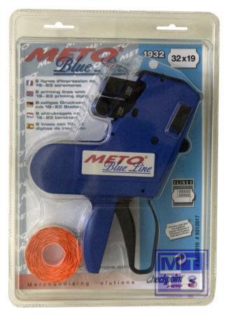 Prijstang Meto BlueLine 2-liner 3219