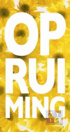 Poster: Opruiming Flower (1 St.)