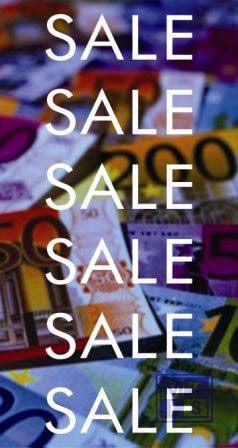 Poster: SALE sale (per 1st.)