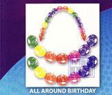Ballonpilaar: All Around Birthday