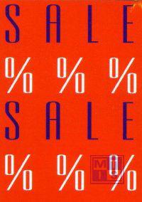 Raambiljet RB 3100: Sale % % % 48 x 70 cm (per stuk)