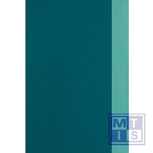 Dessin 2 zijden bedrukt: Petrol blauw / Petrol blauw 642315