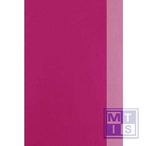 Dessin 2 zijden bedrukt: Fuchsia / Roze 642675