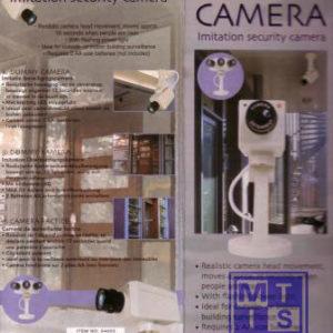 Dummy Camera MTD (per 1st.)
