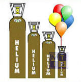 Heliumgas 50 liter € 118,00 ex BTW, factuur achteraf. Voor 500 ballonnen