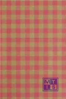 Bedrukt kraftpapier: Ruit roze