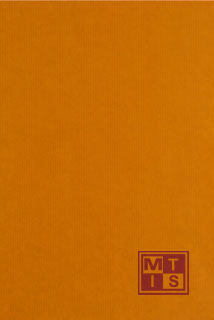 Bedrukt kraftpapier: Oranje