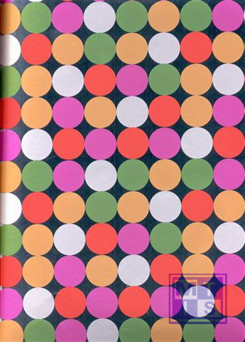 Dessin K80626-16 Dots Orange/Green