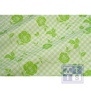 Bloemenzijde Landlust recyclingpapier groen-groen 56980