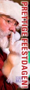 Poster: Prettige feestdagen (per 1st.)