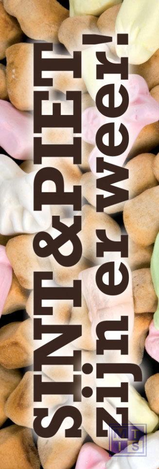 Poster: Sint en Piet (per 1st.)