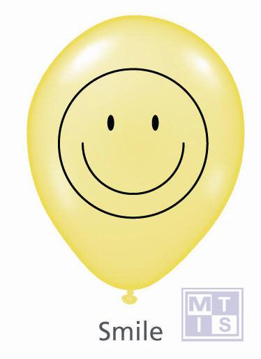 Bedrukte ballon: Smile