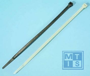 Tie wraps 203x2.5 mm Zwart (100st)