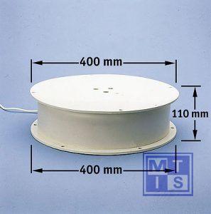 Draaiplateau 100kg. 008 (per 1st.)
