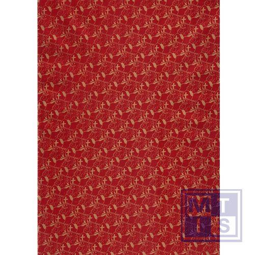 Aanbieding: Sinterklaas 89931-3 Rood Goud (nog 1 rol leverbaar)