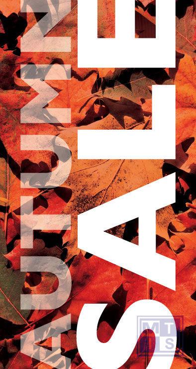 Poster: Autumn Sale (per 1st.)