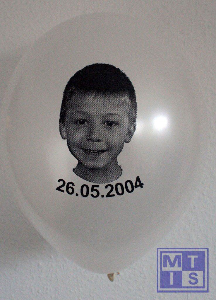 FOTODRUK bedrukken van ballonnen: 1zijde/1kleur