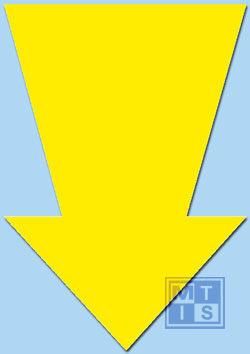 Pijl Fluor 67 cm Geel (per 10st.)