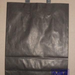 Draagtas; Papier; 22x10x28cm ZWART (per 250st.)
