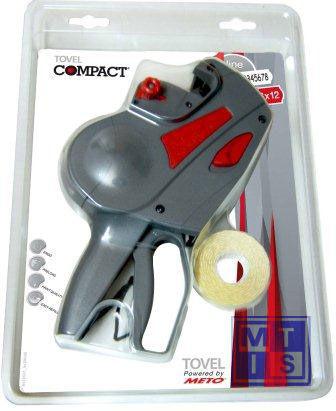 Prijstang Tovel - Meto Compact 1-liner 22x12