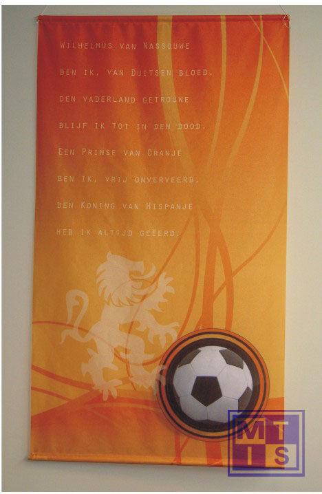Vaandel/Banier: Voetbal 1 (per 1st.)
