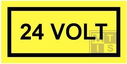 24 volt vinyl 100x50mm