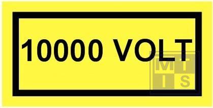 10000 volt vinyl 100x50mm