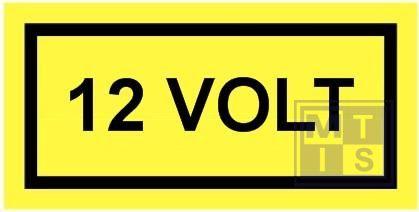 12 volt vinyl 100x50mm