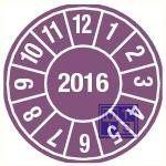 2016 paars standaard 30mm 9/vel
