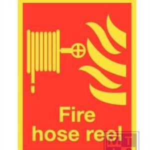 Imo fire hose reel vinyl fotolum 150x200mm