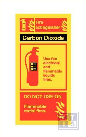 Imo blusapparaat carbon dioxide vinyl fotolum 100x200mm