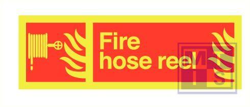 Imo fire hose reel zelfkl. vinyl fotolum 300x100mm