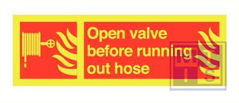 Imo open valve before zelfkl. vinyl fotolum 300x100mm