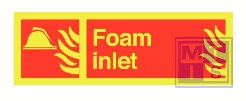 Imo foam inlet zelfkl. vinyl fotolum 300x100mm