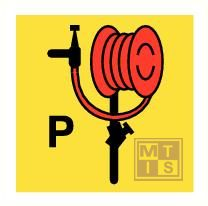 Imo powder hose and hand gun vinyl fotolum 150x150mm