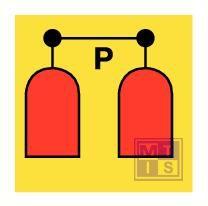 Imo powder release station vinyl fotolum 150x150mm