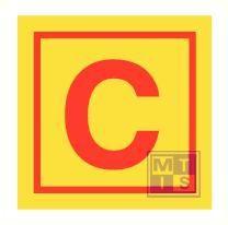 Imo control station vinyl fotolum 150x150mm