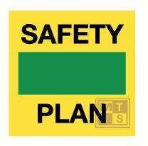 Imo safety controll plan vinyl fotolum 150x150mm