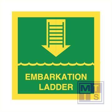 Imo embarkation ladder vinyl fotolum 150x150mm
