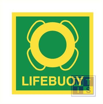 Imo lifebuoy vinyl fotolum 150x150mm