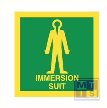 Imo immersion suit vinyl fotolum 150x150mm