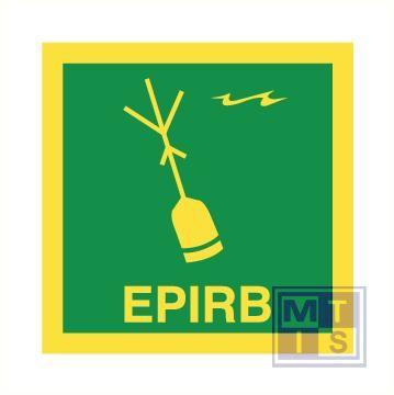 Imo epirb vinyl fotolum 150x150mm
