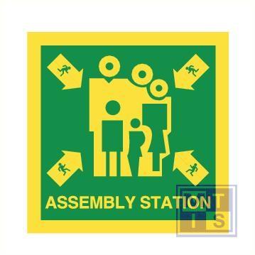 Imo Assembly station vinyl fotolum 300x300mm