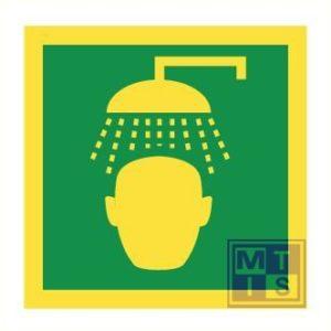 Imo emergency shower vinyl fotolum 150x150mm