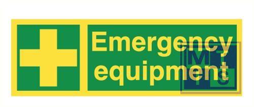 Imo emergency equipm. vinyl fotolum 300x100mm