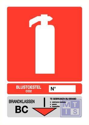 Blustoestel klasse bc PP 200x280mm