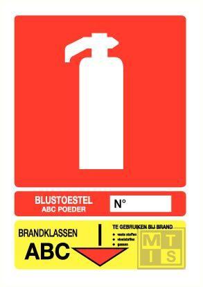 Blustoestel klasse abc pp 200x280mm
